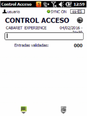 How to upload performances in the access control PDA – Client Support
